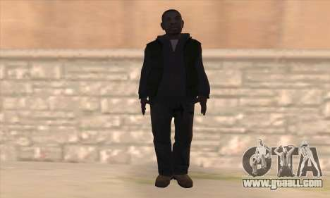 Clarence from GTA IV for GTA San Andreas