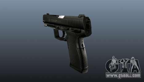 Semiautomatic pistol Taurus 24-7 for GTA 4 second screenshot