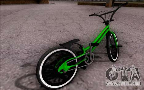 BMX Rebaixada for GTA San Andreas left view