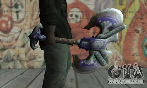 Axe from World of Warcraft for GTA San Andreas second screenshot