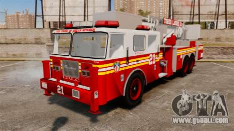 Seagrave Aerialscope Tower Ladder 2006 FDLC for GTA 4