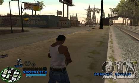 C-HUD CutHot for GTA San Andreas