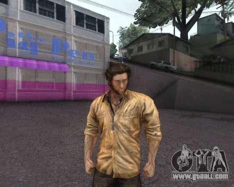 X-men Origins: Wolverine [Skins Pack] for GTA San Andreas third screenshot