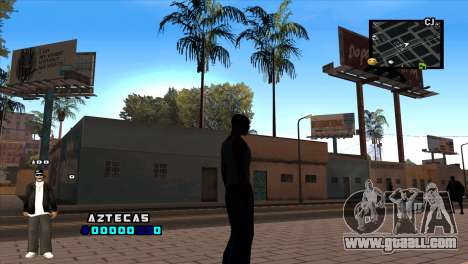 C-HUD Aztecaz for GTA San Andreas