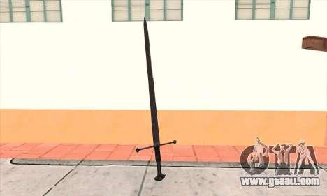 Sword Narsil for GTA San Andreas