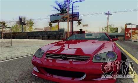 Feltzer from GTA IV for GTA San Andreas