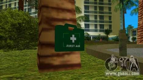 First aid kit from GTA IV for GTA Vice City