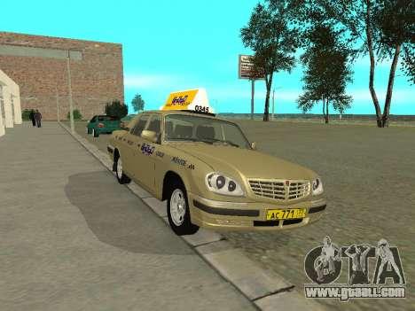 GAZ 31105 Volga Taxi for GTA San Andreas
