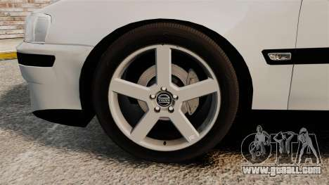 Volvo S60R for GTA 4 inner view