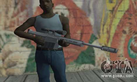 Sniper rifle from the Saints Row 2 for GTA San Andreas third screenshot
