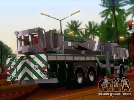 Pierce Arrow Midmount Aerialscope SAFR Tower 34 for GTA San Andreas right view