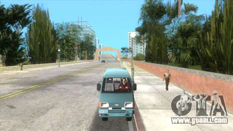 Kia Towner for GTA Vice City back left view