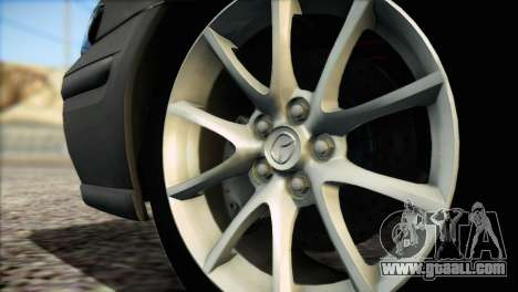 Mazda 626 for GTA San Andreas back left view