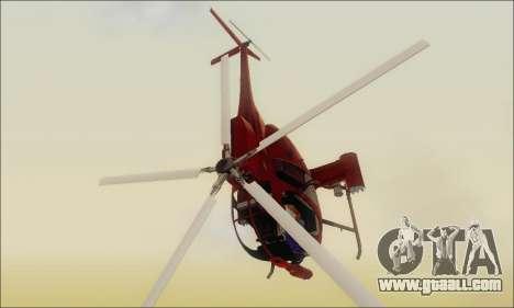 Buzzard Attack Chopper from GTA 5 for GTA San Andreas