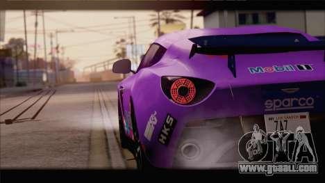 Aston Martin V12 Zagato 2012 [IVF] for GTA San Andreas engine