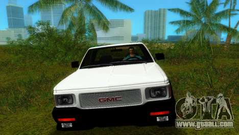 GMC Cyclone 1992 for GTA Vice City right view