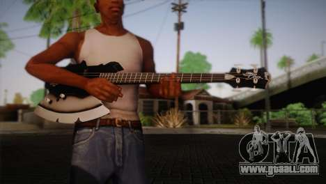 Guitar, KISS for GTA San Andreas third screenshot