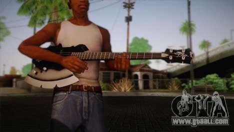 Guitar, KISS for GTA San Andreas third screenshot