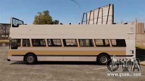 Tourist bus for GTA 4 left view