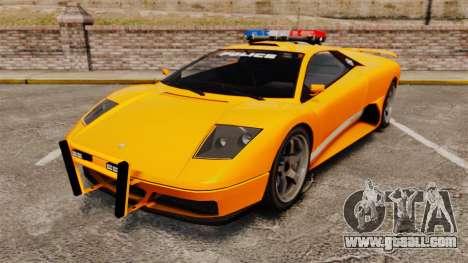 Infernus Police for GTA 4