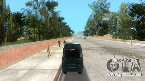 Kia Towner for GTA Vice City right view