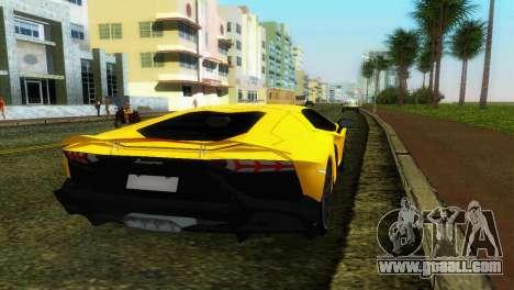 Lamborghini Aventador LP720-4 50th Anniversario for GTA Vice City back left view