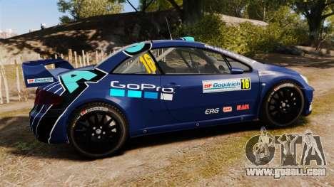 Peugeot 307 WRC for GTA 4 left view