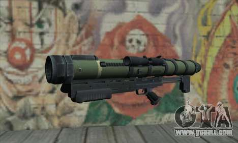 Missile launcher for GTA San Andreas