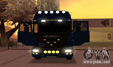 Scania Topline R730 V8 for GTA San Andreas back view