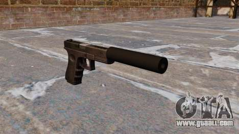 Auto Glock 18 c for GTA 4