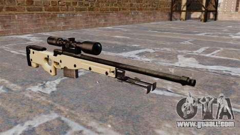 AW L115A1 sniper rifle for GTA 4