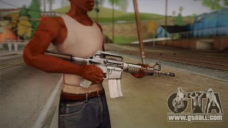 M4 from Max Payne for GTA San Andreas