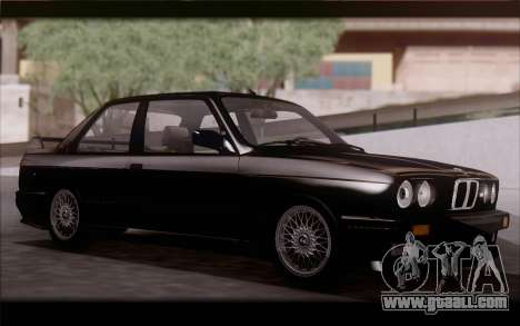 BMW M3 E30 Stock Version for GTA San Andreas left view