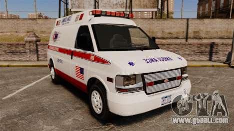 Vapid Speedo AMR [ELS] for GTA 4