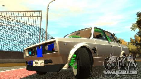 VAZ 2105 for GTA 4 interior