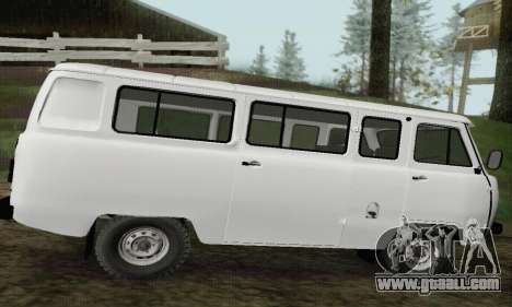 UAZ 2206 Loaf for GTA San Andreas left view