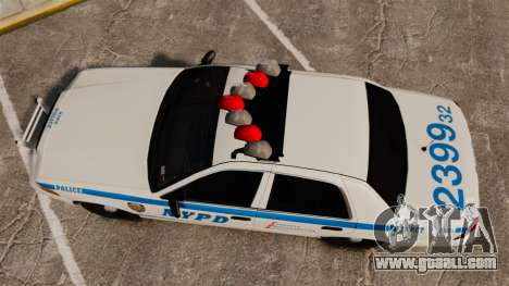 Ford Crown Victoria 1999 NYPD for GTA 4 right view