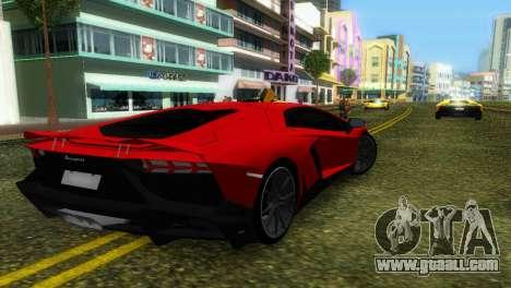 Lamborghini Aventador LP720-4 50th Anniversario for GTA Vice City bottom view
