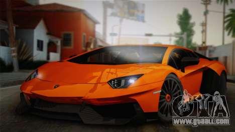 Lamborghini Aventador LP 700-4 RENM Tuning for GTA San Andreas