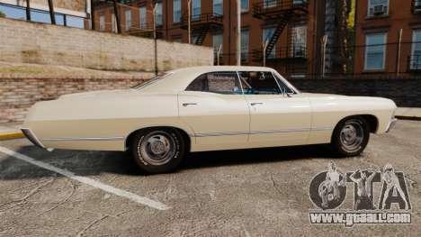 Chevrolet Impala 1967 for GTA 4 left view