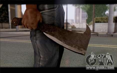 Machete for GTA San Andreas third screenshot