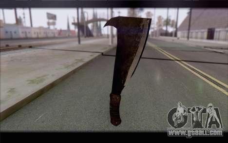 Machete for GTA San Andreas