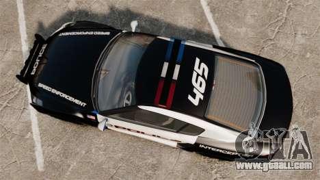 GTA V Police Elegy RH8 for GTA 4 right view