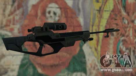 Sniper rifle of Timeshift for GTA San Andreas second screenshot