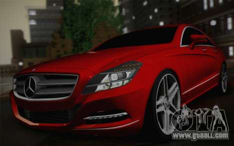 Mercedes-Benz CLS 63 AMG 2012 Fixed for GTA San Andreas right view