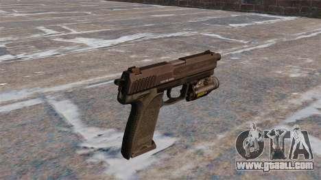 HK USP 45 pistol MW3 for GTA 4 second screenshot