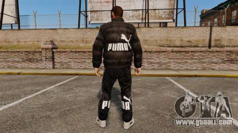 Puma Clothing for GTA 4 second screenshot