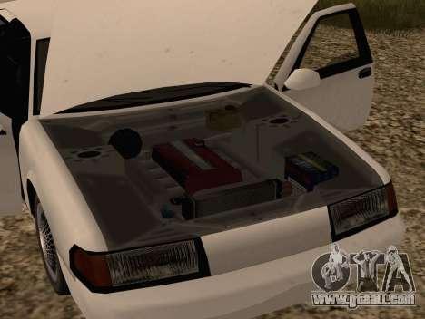Fortune Sedan for GTA San Andreas right view