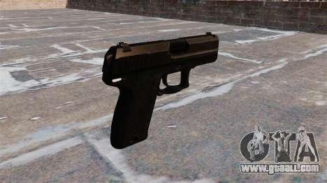 HK USP Compact pistol v1.3 for GTA 4 second screenshot