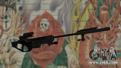 Sniper rifle of Timeshift for GTA San Andreas